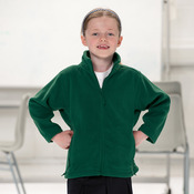 Kid's Full Zip Outdoor Fleece