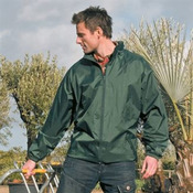 Weather-guard rain jacket