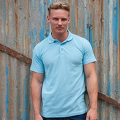 Heavyweight workwear polo