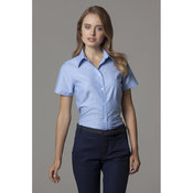 Workwear Oxford Blouse Short Sleeved Womens