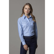 Workwear Oxford Blouse Long Sleeved Womens
