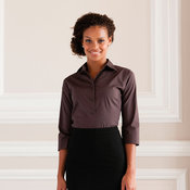 Women's 3/4 sleeve fitted shirt