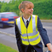 Kid's safeguard high-viz vest EN1150 C2 Approved