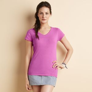 Softstyle™ women's v-neck t-shirt Thumbnail