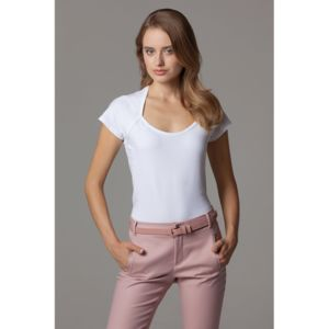 Women's corporate top scoop neck Thumbnail