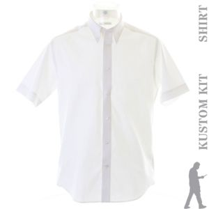 Premium Oxford shirt short-sleeved (tailored fit) Thumbnail