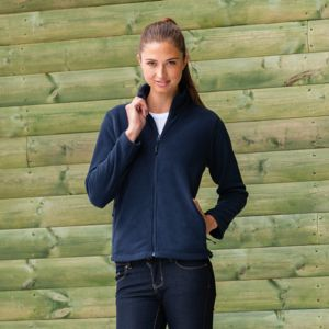 Women's full-zip outdoor fleece Thumbnail