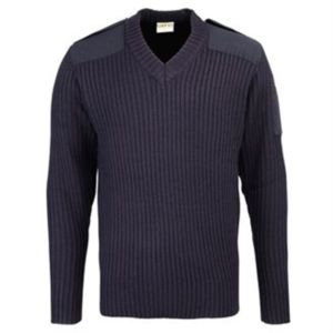 Security style v-neck sweater Thumbnail