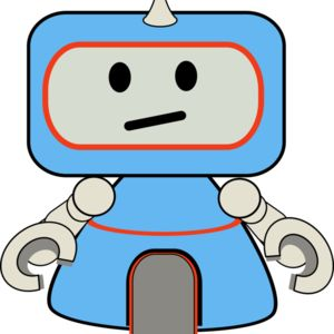 robot little blue Thumbnail